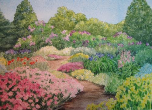 Full Bloom   Garden Paintings